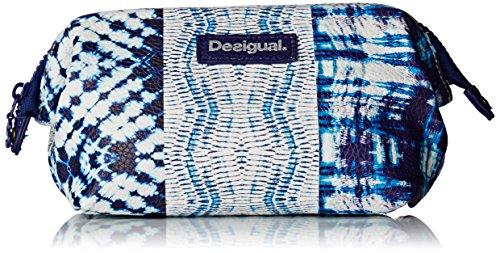 Desigual Damen POUCH_LIGERO TYE DYE Münzbörse Blau (5001)
