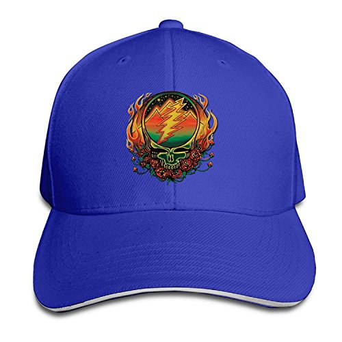 (The Grateful Dead In The Dark Visor Hats Fitted Sandwich Cap Hats)