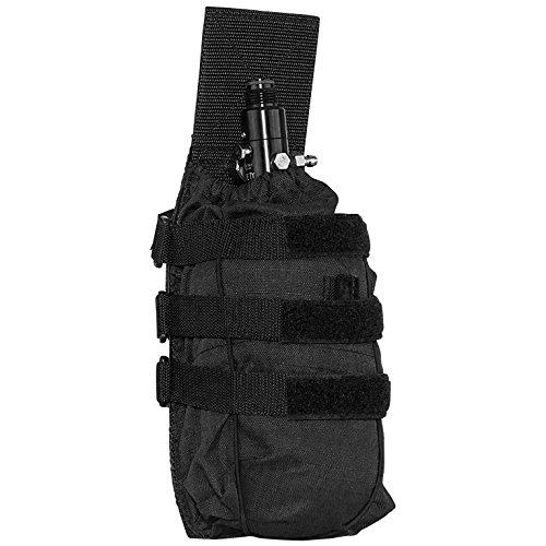 - Valken Paintball Tank Vest Pouch Universal, Black, One Size