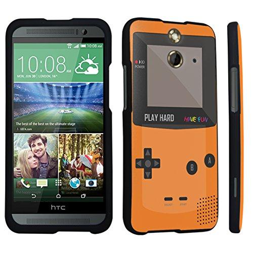 E8 Hard Case Black - (Gameboy Orange) ()