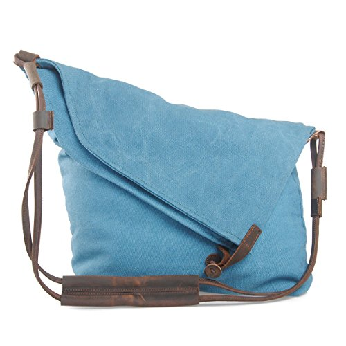 Estarer Hobo Bag Canvas Messenger Tote Shouder Handbag Bag Unisex