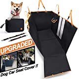 MOVEPEAK Waterproof Seat Covers for Dogs/Pet Dog Seat Cover for Cars and SUV (Black)