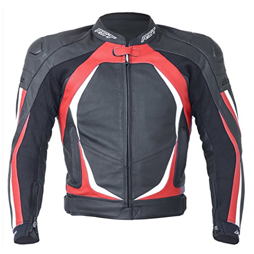 Price comparison product image RST Blade II Leather Motorcycle / Motorbike Sports Jacket - Red XL