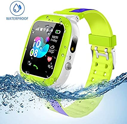 Amazon.com: Jsbaby Kids Smartwatch Waterproof with LBS/GPS ...