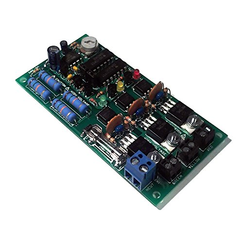 Led Traffic Light Sequencer