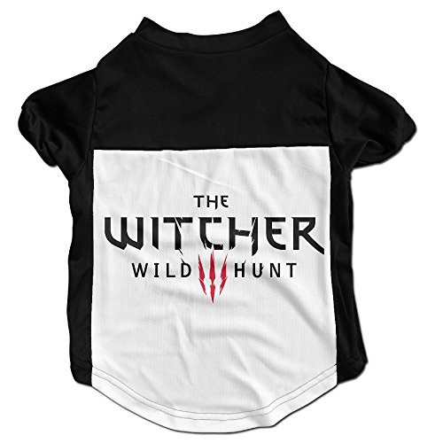 [TAYC Wild Video Game Logo Hunt Personalize Cloth Black L] (Witcher 3 Ciri Costume)