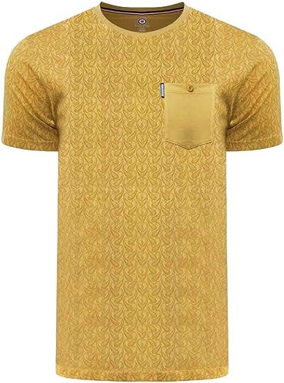 Lambretta Paisley AOP - Camiseta de algodón para hombre: Amazon.es: Ropa y accesorios