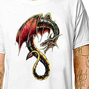 Dragon Tattoo - Dungeon Master -shirt | LazyCarrot