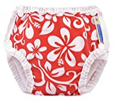 Mother-Ease Swim Diaper - Aloha Red - X-Large