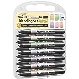 Letraset Pro Marker Blending Set, Pastel, 12-Pack