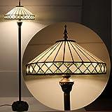 Bilbao tiffany floor lamp amazon lighting almeria 16inch tiffany floor lamp mozeypictures Images