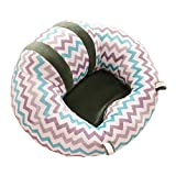 GUOYIHUA Infant Sitting Chair,Baby Sofa Learn Sitting Chair Nursery Support Seat Protector Plush Cushion Toys for Toldder Infant