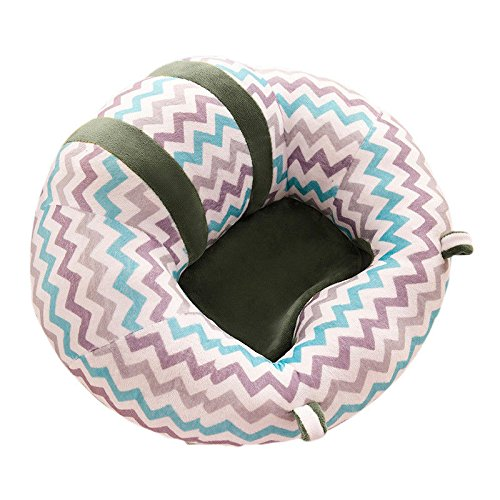 1PC Baby Support Seat Learn Sit Chair Safe Dining Chair Cushion Sofa Nursing Plush Pillow Seat Toys for 0-12 Months (4#)