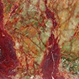 Montego Sela Multi Red Onyx 12 X 12 Polished Onyx Tile (10 Sq. Ft./Case)