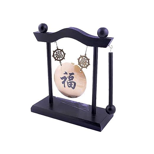 Gong de mesa Zen chino, campana de escritorio para meditación Feng ...