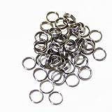 Scott Edward 50PCS Stainless Steel Dart Shaft Ring