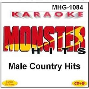 Monster Hits Karaoke #1084 - Male Country Hits
