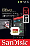 SanDisk Extreme 512TB Micro SD Memory Card for