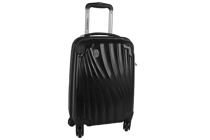8b6782197f3 Maleta rígida JUVENTUS negro mini equipaje de mano ryanair VS81  Amazon.es   Ropa y accesorios