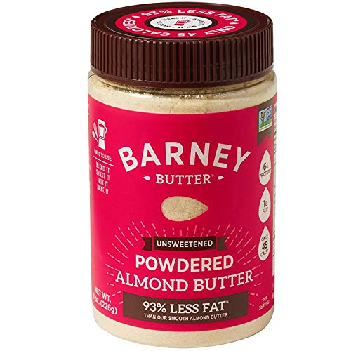 Barney Butter Powdered Almond Butter, Unsweetened, 8 Ounce (Best Way To Get Rid Of Muffin Top Fat)