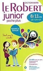 Dictionnaire Le Robert Junior poche plus