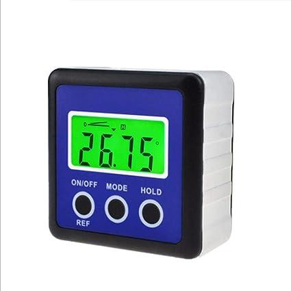 4 x 90 Digital Bevel Box Gauge Angle Finder Protractor Waterproof LCD