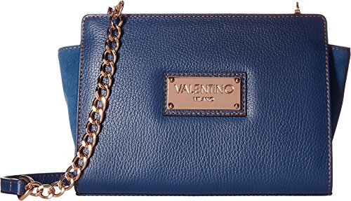 Price comparison product image Valentino Bags by Mario Valentino Women's Kiki Blue Denim Handbag