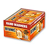 #8: HotHands Hand Warmers - Long Lasting Safe Natural Odorless Air Activated Warmers - Up to 10 Hours of Heat - 40 Pair