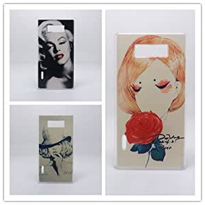 ModernGut 14 Hot New Fashion Multi species Painted Hard Plastic Phone Case For LG Optimus L7 P700 P705 +1free screen film