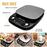TopHomer Digital Kitchen Scale, 10kg/ 22lb Baking Cooking scale with Back-Lit LCD Display - Best Reviews Guide