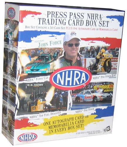 2005 Press Pass NHRA Set Racing Cards Unopened Hobby Box