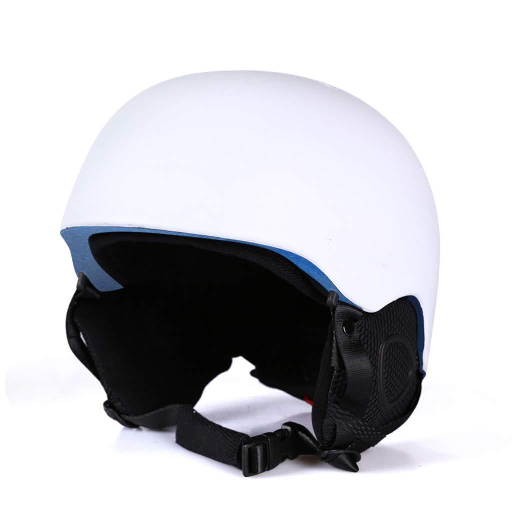 BLUEDYYY Skihelm Schnee Helm Skateboard Ski-Schutz-Fahrrad/Skateboard-Helm für Erwachsene Pendler Fahrrad Skate Breathable Bequem für Outdoor-Baseball,C,XL
