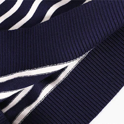 Otoño A Y Que Fashion Versión Punto Oscuro Suéter Del El Coreana Los Tamaños Rayas Sow Cuello Azul Cómodos De La Cabeza Hx Ropa Invierno Hombres Fija Hace 7wqOp1O