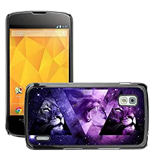 Super Stellar Slim PC Hard Case Cover Skin Armor Shell Protection // M00047897 aero space-jessy_descarpentrie // LG NEXUS 4