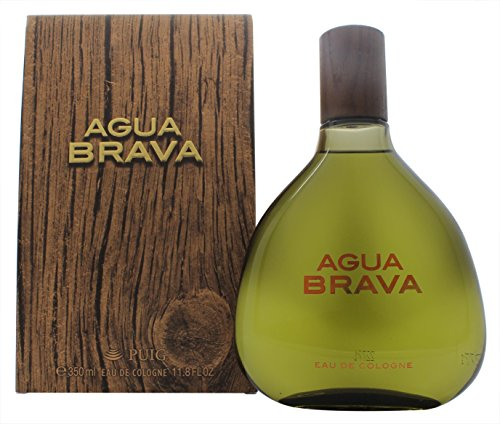 Puig Agua Brava Eau De Cologne Splash for Men, 11.8 Ounce