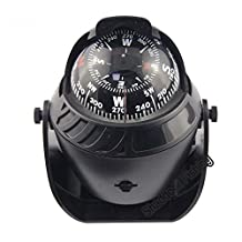 LED Light Sea Marine Compass Boat Ship Compass Electronic Vehicle Car Compass Navigation