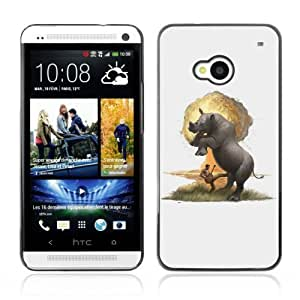 Designer Depo Hard Protection Case for HTC One M7 / Rhino Explosion