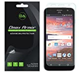 [3-Pack] Dmax Armor for ZTE Maven/ZTE Overture 2 Screen Protector, Anti-Glare & Anti-Fingerprint (Matte) Screen Protector - Lifetime Replacements Warranty- Retail Packaging