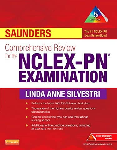 By Linda Anne Silvestri PhD RN Comprehensive Review for the NCLEX-PN Examination (5th) [Paperback] (Nclex Pn 5th)