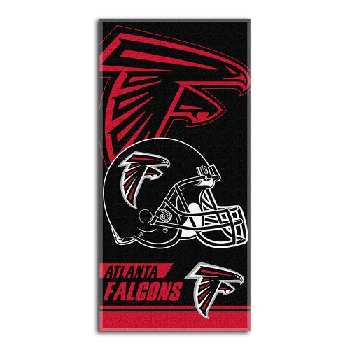 The Northwest Company NFL Atlanta Falcons Double Covered Beach Towel, 28-Inch by 58-Inch