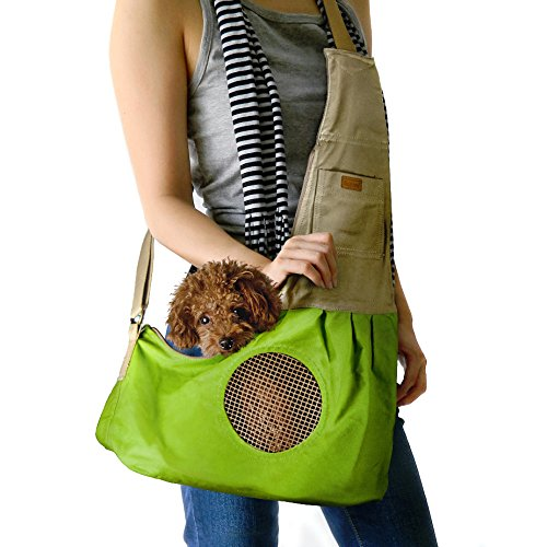 Amazon Com Dog Carrier Sling Bag Stylish Durable Hands Free