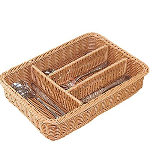 K-HOME Woven mesh strip storage cutlery tray - kitchen storage/bathroom storage/gadget storage