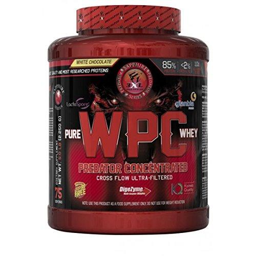 3XL Predator Sapphire Series - Pure WPC Whey - 2250 g - BLACK COOKIES: Amazon.es: Alimentación y bebidas