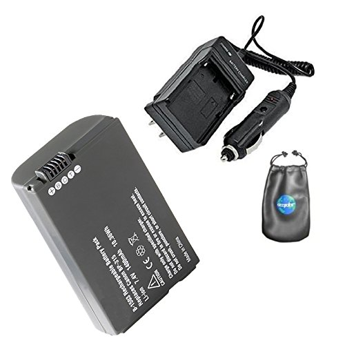 Amsahr S-BP315 Digital Replacement Battery Plus Travel Charger for Canon BP-315, BP-308 (Gray) ()
