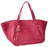 Juicy Couture Piper Woven Leather Large Tote