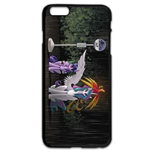 Neighbour Totoro Rainbow Pony Thin Fit Case Cover For IPhone 6 Plus (5.5 Inch) - Occation Shell