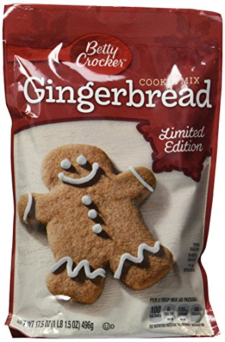 Betty Crocker Gingerbread Cookie Mix ~ (6 Bags)