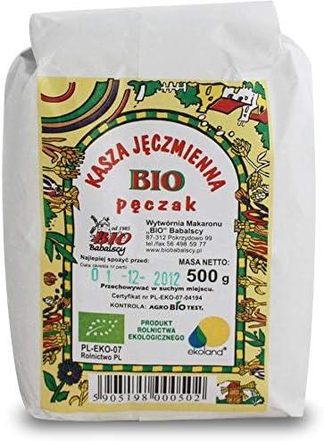 Cebada perla cebada BIO 500 g - BABALSCY: Amazon.es ...