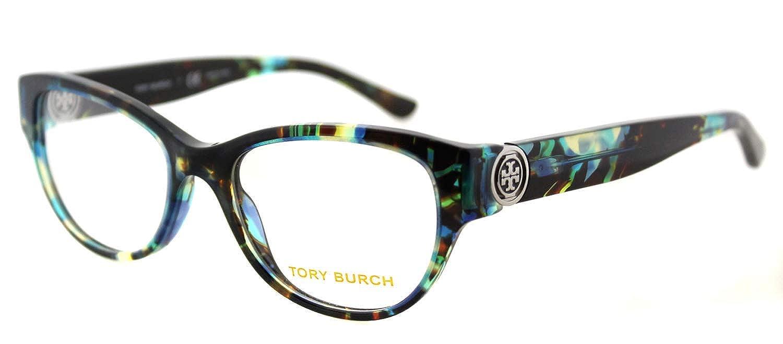 469f06bd21dd Tory Burch TY2060 Eyeglass Frames 3145-50 - Blue Brown Tort TY2060-3145-50  at Amazon Women's Clothing store: