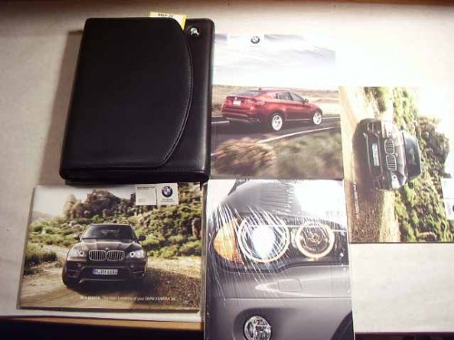 2010 BMW X5, X6 X Drive and M Owners Manual